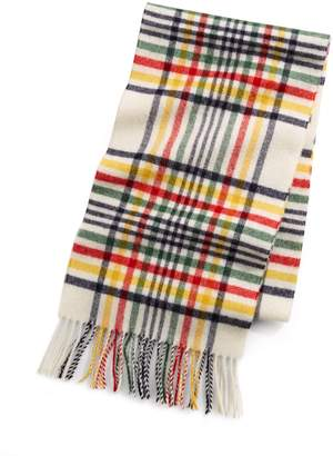 Johnstons of Elgin Hbc Stripes HBC x Multi Stripe Tartan Scarf