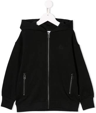 Molo small embroidered logo hoodie