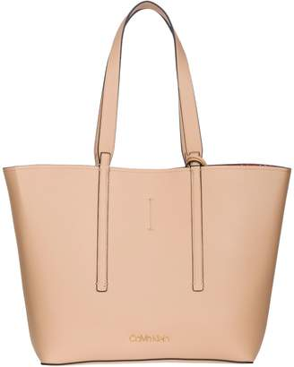 Calvin Klein Jeans Lace-up Closure Tote Bag