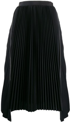 Sacai mid-length skirt