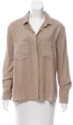 Bella Dahl Long Sleeve Button-Up Top