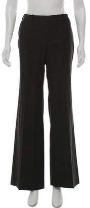 Celine Mid-Rise Wool-Cashmere Pants
