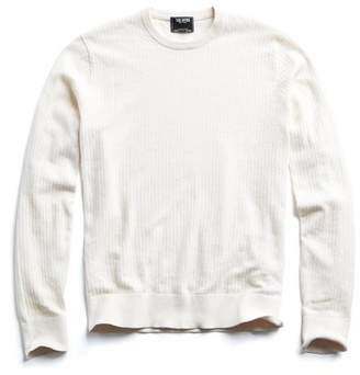 Todd Snyder Cotton Crew Neck in Cream