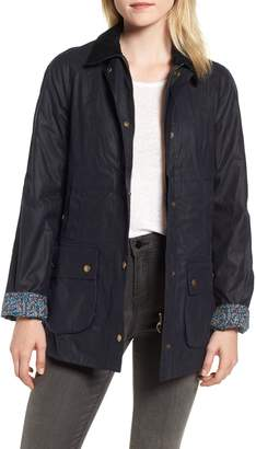 Barbour x Liberty Abbey Waxed Cotton Jacket