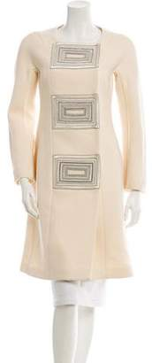 Narciso Rodriguez Embellished Coat