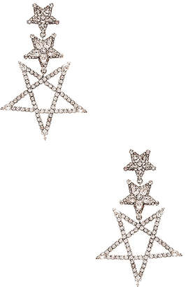 Elizabeth Cole Star Drop Earring
