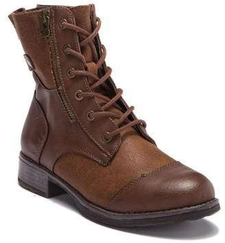Chinese Laundry Teriann Canvas Lace-Up Boot