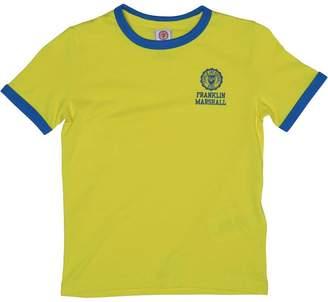 Franklin & Marshall Boys Retro Logo Ringer T-Shirt Sunny Yellow