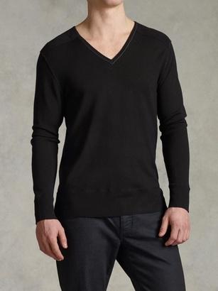 V-Neck Sweater $298 thestylecure.com