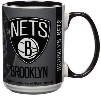 Brooklyn Nets 15oz Super Fan Inner Color Mug