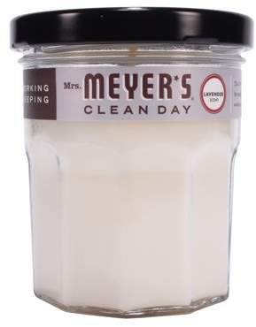 Mrs. Meyer's Clean Day Mrs. Meyers Clean Day Scented Soy Candle, Lavender, Candle, 4.9 ounce