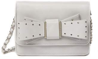 Betsey Johnson Stud Bow Crossbody Bag