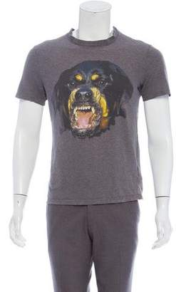 Givenchy Rottweiler Printed T-Shirt