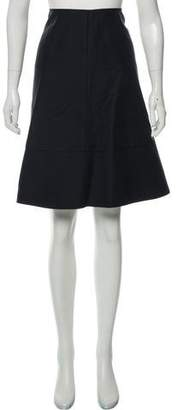 Marni Draped A-Line Skirt
