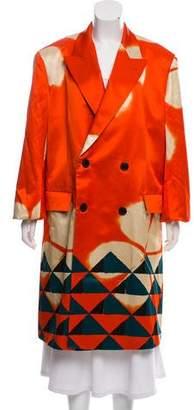 Dries Van Noten 2017 Ramada Double-Breasted Coat