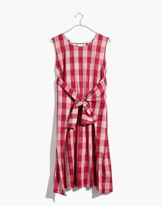 Madewell Caron Callahan Gingham Ada Wrap Dress