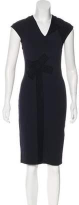 Stella McCartney V-Neck Knee-Length Dress