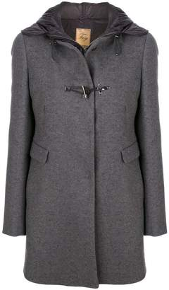 Fay mid-length hooded coat