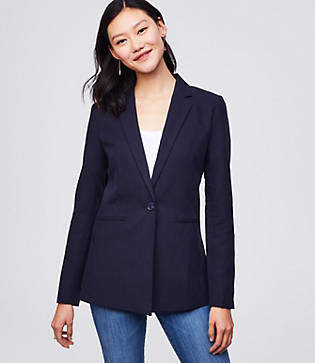LOFT Softened Blazer