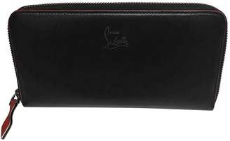 Christian Louboutin Black Leather Wallets