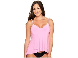 Magicsuit Solid Jolene Tankini Top Women's Swimwear