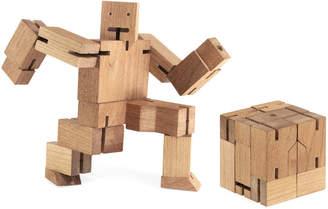 Areaware エリアウェア Cubebot ウッドトイ