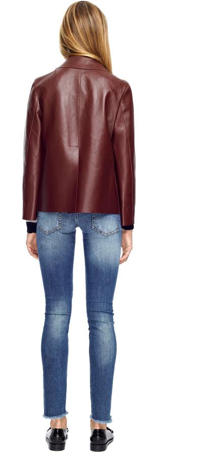 Marni Bonded Leather Jacket