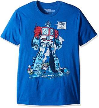 Goodie Two Sleeves Men's Transformers Is Back Adult T-Shirt