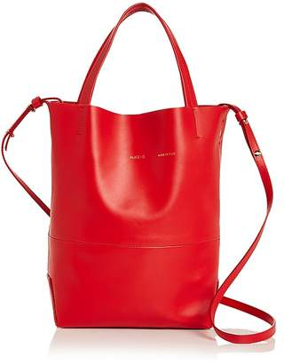 Alice.D Firenze Small Leather Tote $475 thestylecure.com