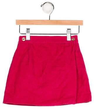Papo d'Anjo Girls' Corduroy Mini Skirt