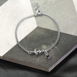4d519f48a79c6 Martha Jackson Sterling Silver Oxidised Sterling Silver Fleur De Lis  Bracelet