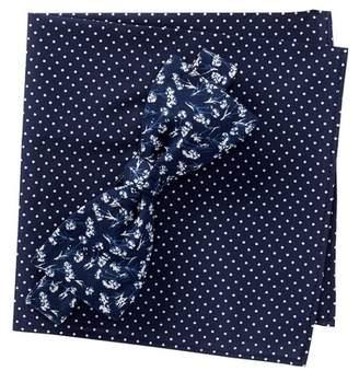 Original Penguin Hovey Floral Bow Tie Set
