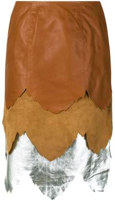 J.W.Anderson layered skirt