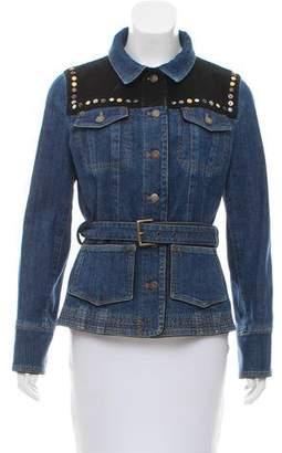 Louis Vuitton Studded Denim Jacket