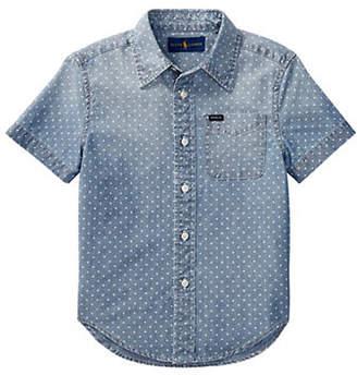 Ralph Lauren Star Chambray Collared Shirt