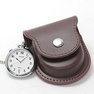 Alba (アルバ) - [セイコーアルバ] セイコー アルバ(SEIKO ALBA)懐中時計AABU005と正美堂オリジナル革ケース(ブラウン) セット