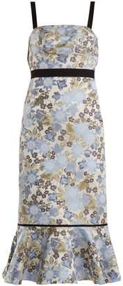 Erdem Eunice floral-jacquard dress