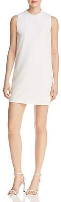 French Connection Ruffled Collar Shift Dress