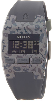 Nixon Men's Comp S Camo Silicone Strap Digital Watch $60 thestylecure.com