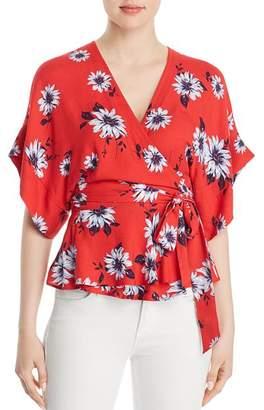 Yumi Kim That's a Wrap Floral-Print Kimono Top