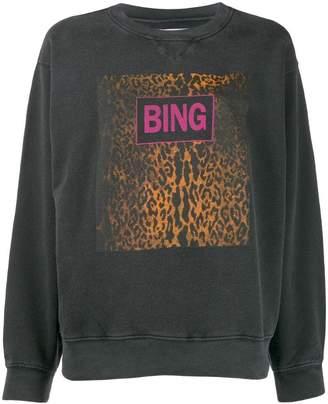 Anine Bing Ramona graphic print sweatshirt