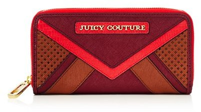 Juicy Couture Sierra Colorblock Continental Zip Wallet