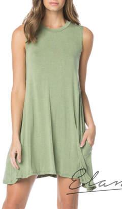 Elan International Sleeveless Dress With Pockets