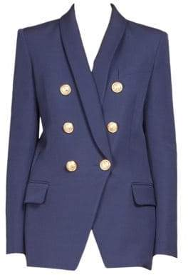 Balmain Veste Six Button Blazer