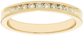 14k Gold 1/5 Carat T.W. Diamond Anniversary Ring