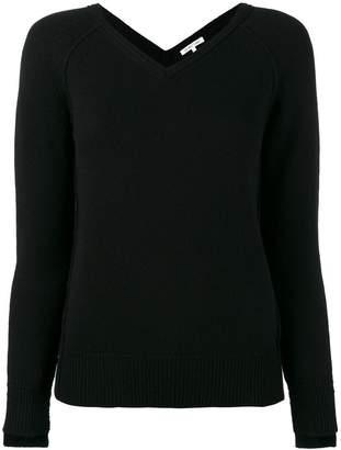 Helmut Lang V-Neck knitted top