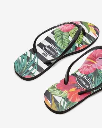 Express Havaianas Slim Tropical Flip Flops