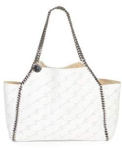 Stella McCartney Stella Faux Leather Chain Dual Tote Bag