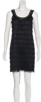 Milly Studded Fringe Dress w/ Tags