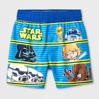 5895d92031 Star Wars Toddler Boys' Swim Trunks - Blue